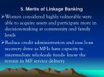 5 merits of linkage banking21