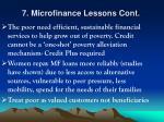 7 microfinance lessons cont25