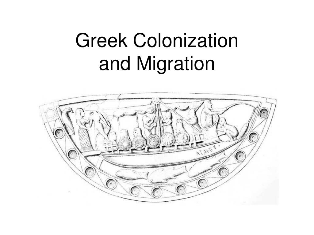 greek colonization and migration l.