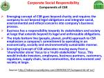 corporate social responsibility components of csr