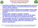 corporate social responsibility the impacts of different worldviews
