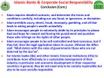 islamic banks corporate social responsibility conclusion cont