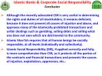 islamic banks corporate social responsibility conclusion