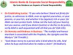 islamic banks corporate social responsibility qur anic evidence on aspects of social responsibility22