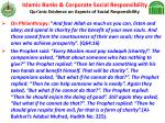 islamic banks corporate social responsibility qur anic evidence on aspects of social responsibility25