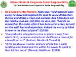 islamic banks corporate social responsibility qur anic evidence on aspects of social responsibility26