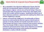 islamic banks corporate social responsibility17