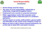 social responsibility introduction