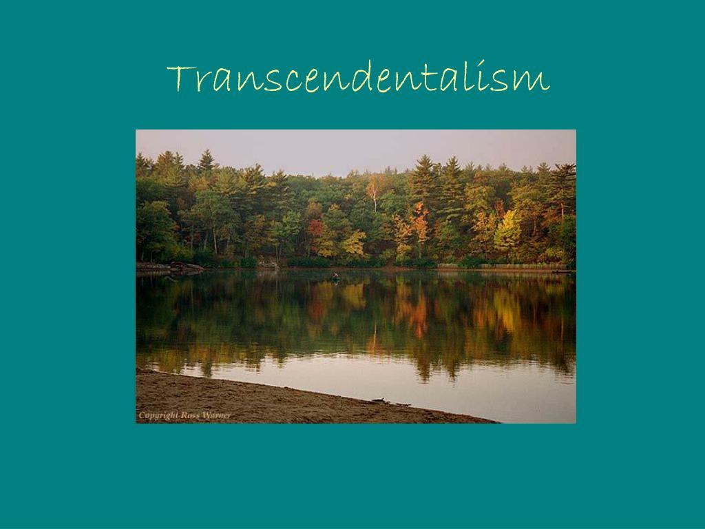 transcendentalism l.