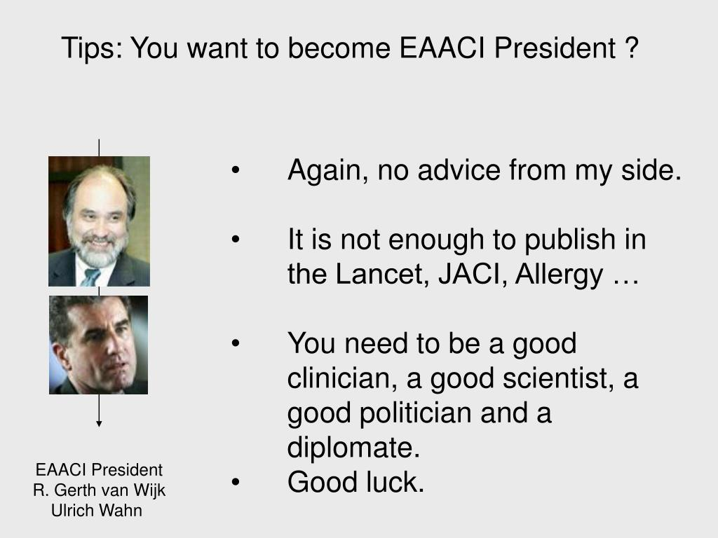 EAACI President