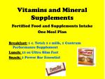 vitamins and mineral supplements57