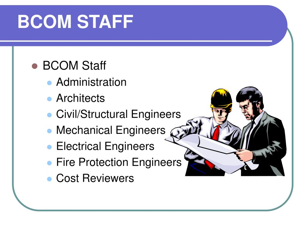 BCOM STAFF