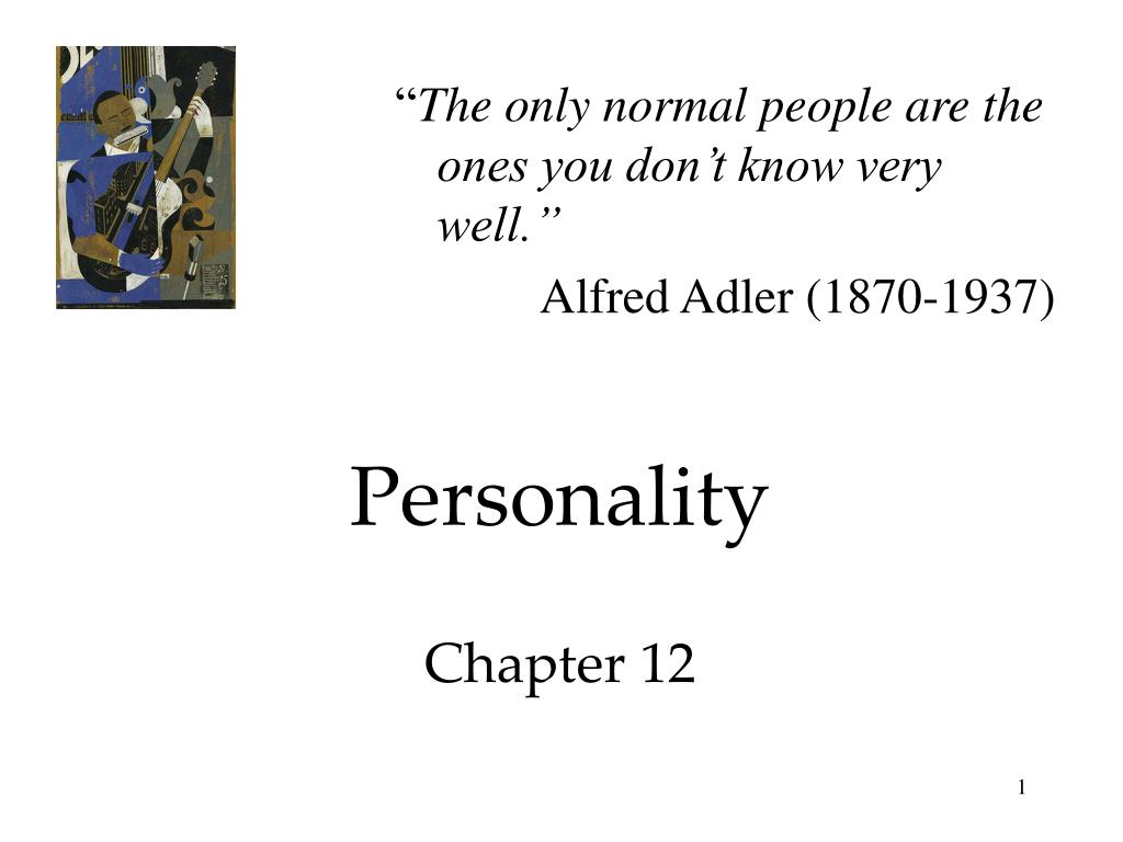 personality chapter 12 l.