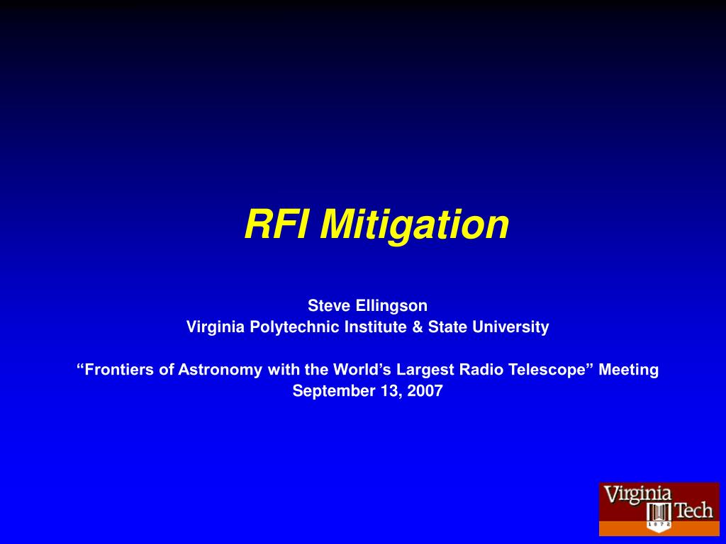 rfi mitigation l.