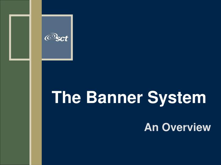 the banner system n.