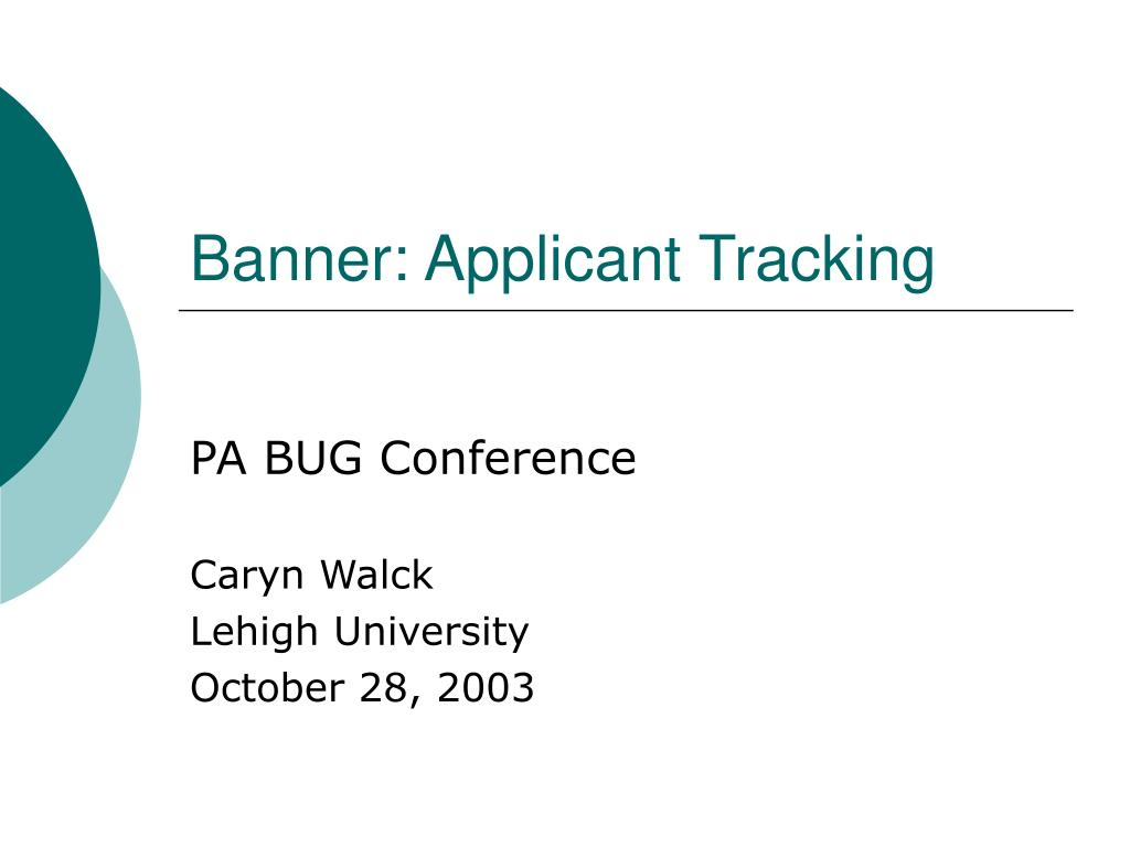 banner applicant tracking l.