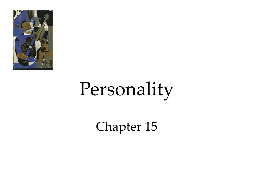personality chapter 15 l.