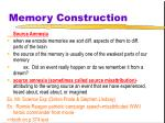 memory construction17