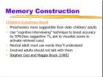 memory construction20