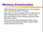 memory construction21