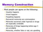 memory construction22