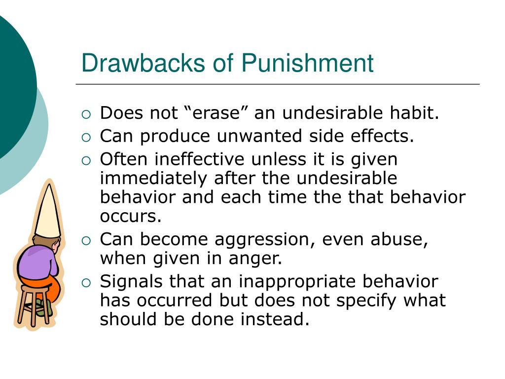 Drawbacks of Punishment