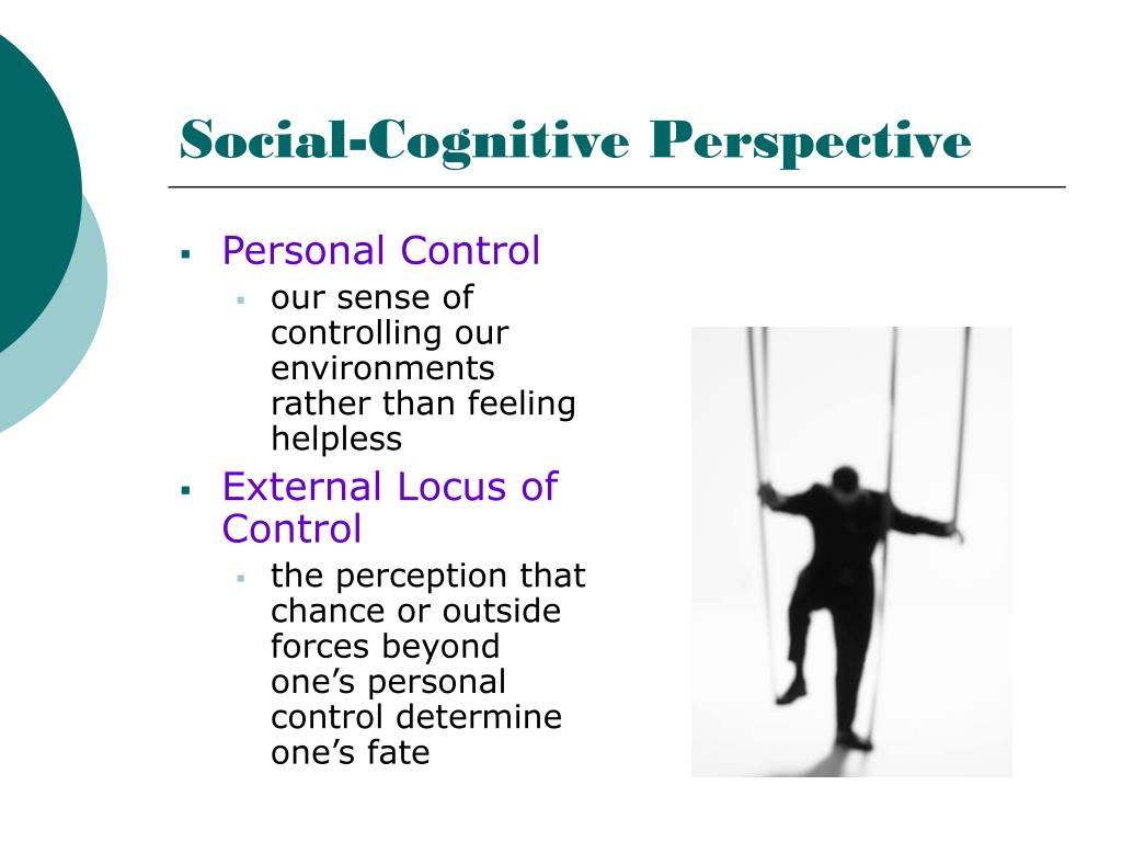 cognitive perspective Lp 11d social cog/trait 1 03/22/04 the social cognitive perspective and albert bandura for more information on albert bandura and the social cognitive perspective, see chapter 5: learning and chapter 8:.