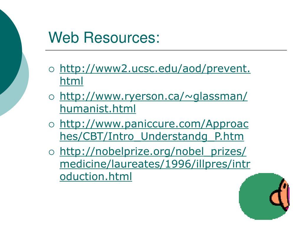 Web Resources: