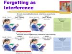 forgetting as interference1