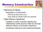 memory construction2