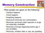 memory construction3