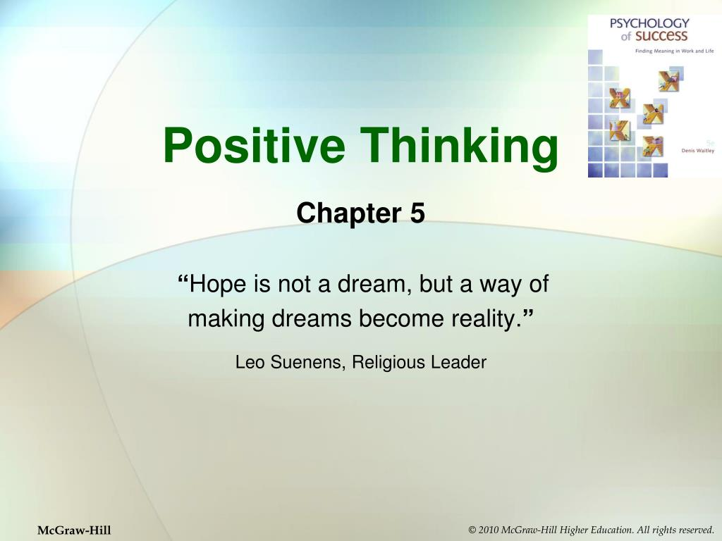 positive thinking l.