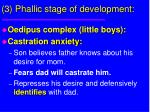 3 phallic stage of development30