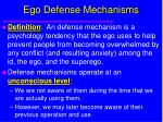 ego defense mechanisms18