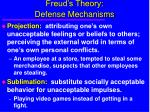freud s theory defense mechanisms22