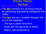 freud s theory the ego