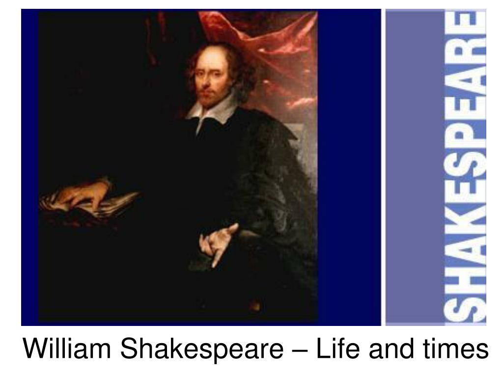 william shakespeare life and times l.