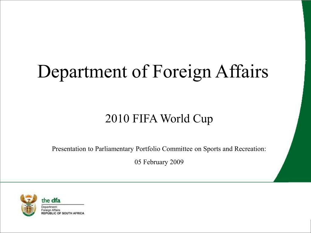 department of foreign affairs l.