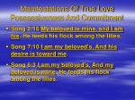 manifestations of true love possessiveness and commitment16