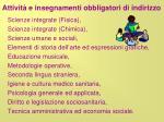 attivit e insegnamenti obbligatori di indirizzo13