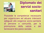 diplomato dei servizi socio sanitari