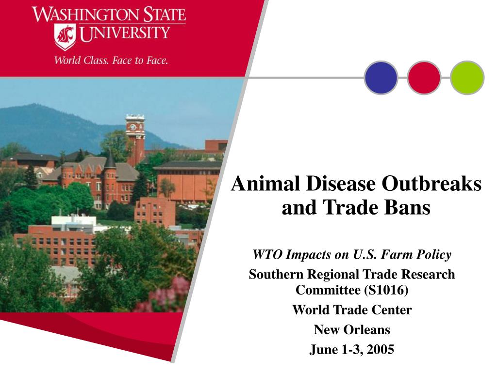 animal disease outbreaks and trade bans l.