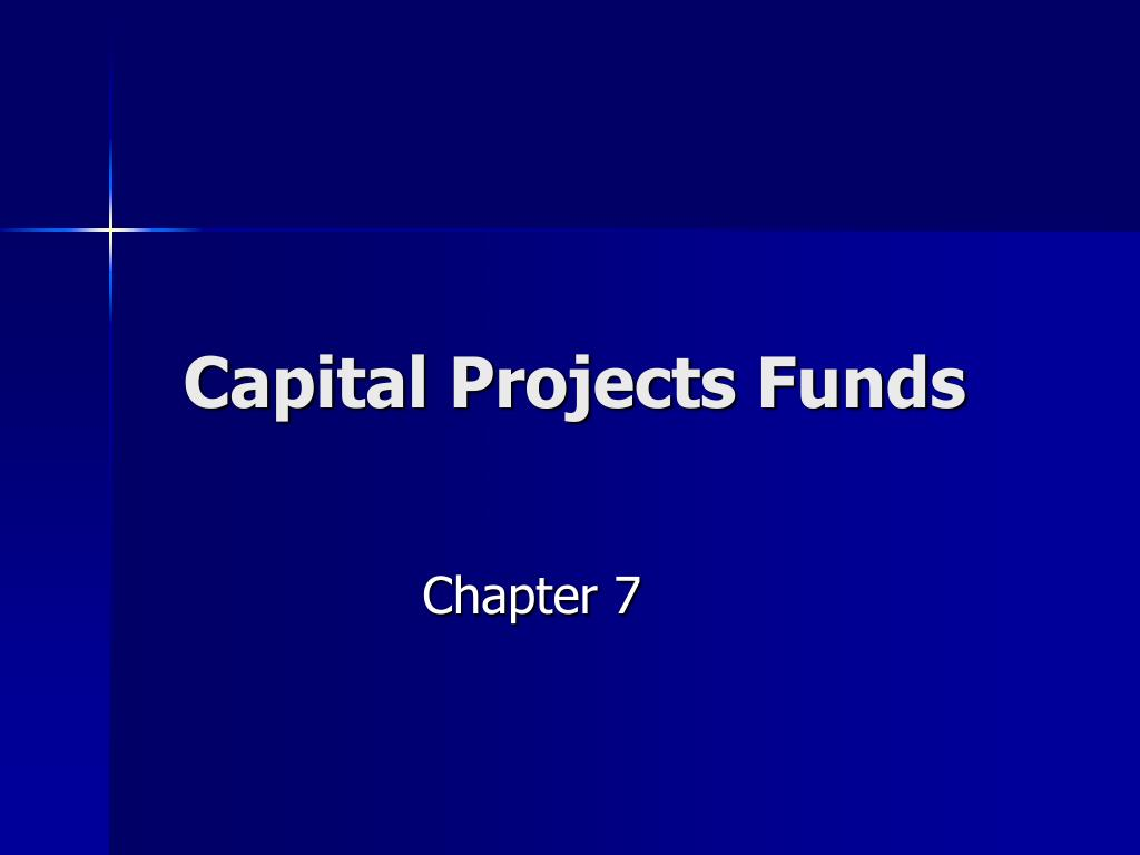 capital projects funds l.