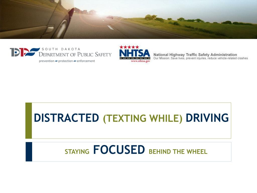 distracted texting while driving l.