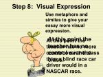 step 8 visual expression