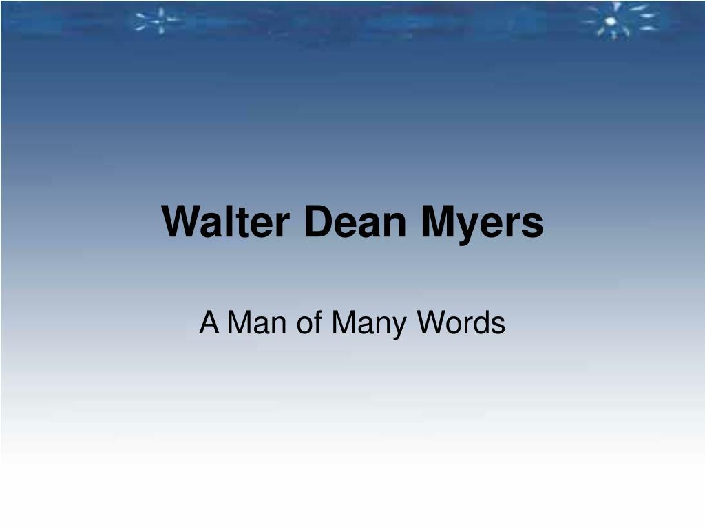 walter dean myers l.