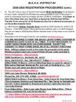 2008 2009 registration procedures cont