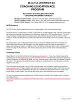 coaching education ace program