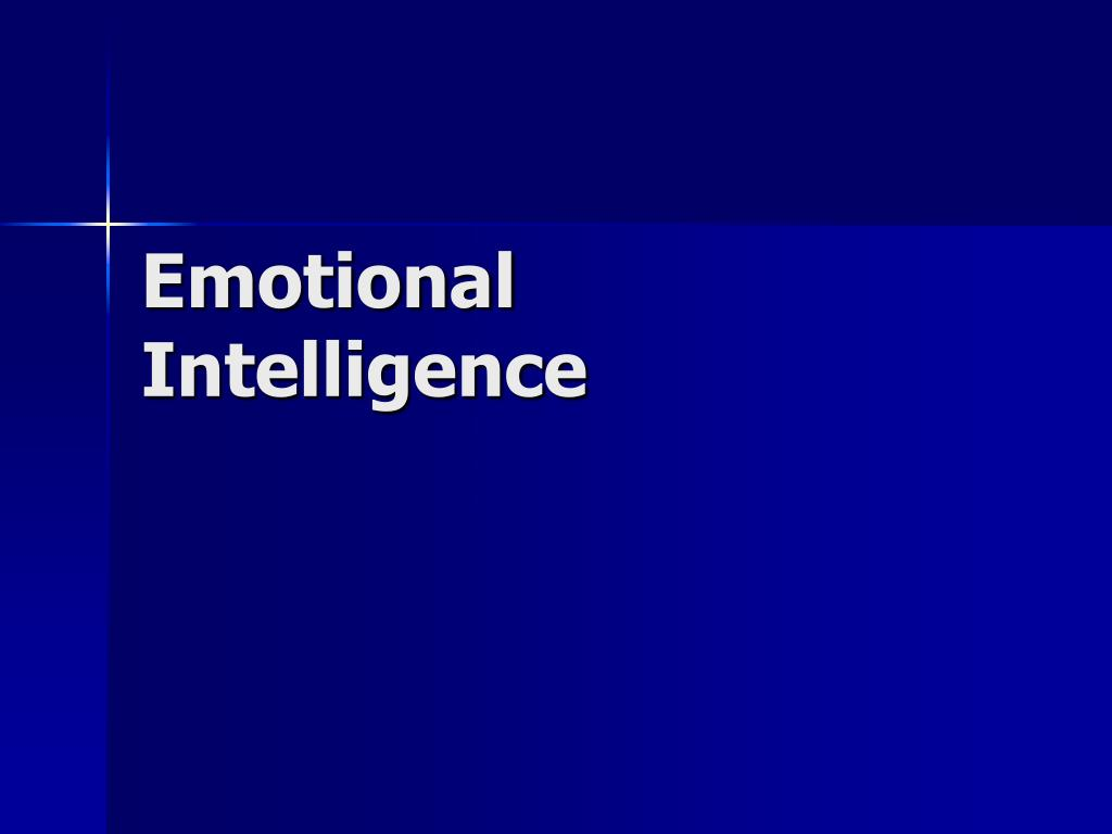 emotional intelligence l.