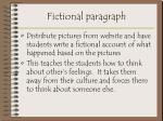 fictional paragraph